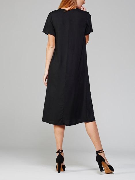 Harper Dress Black Back