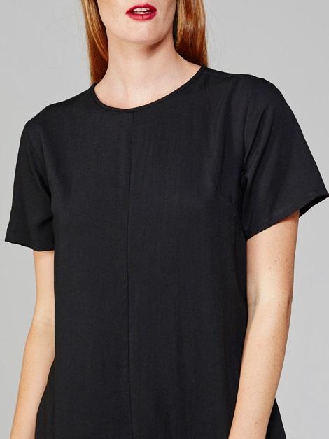 Harper Dress Black Closeup