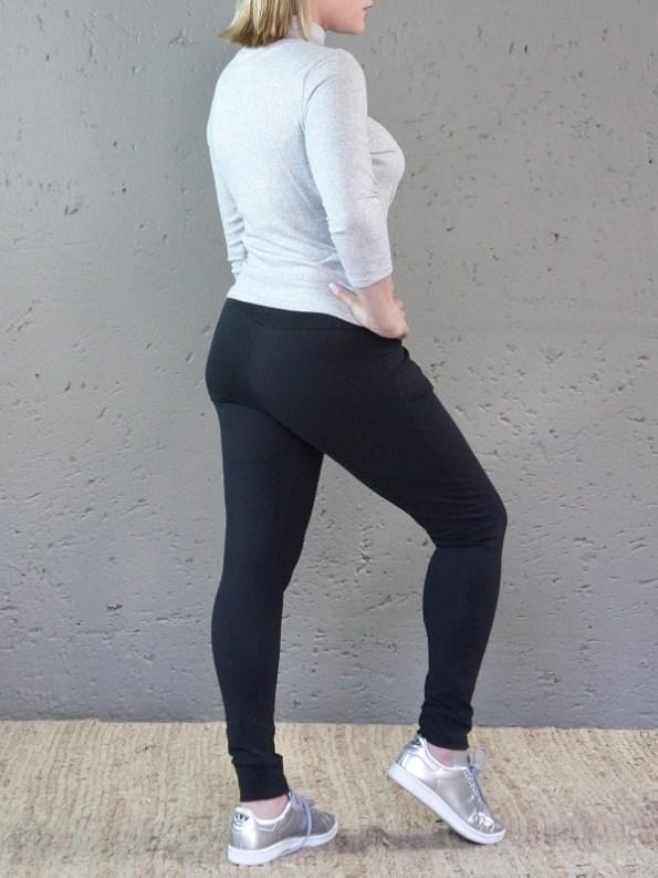 Jogger-Style Leggings Back