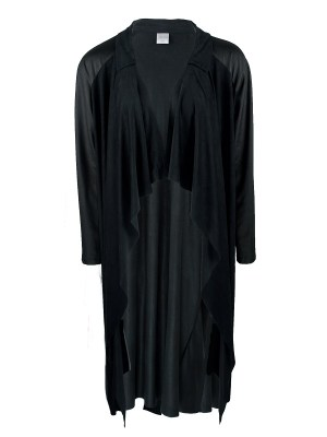 JMVB Waterfall Coat Black