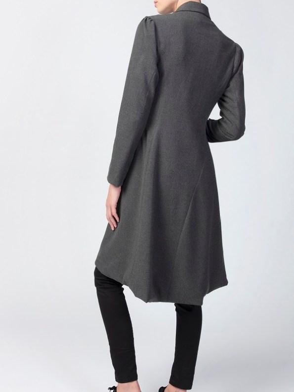 Vivienne Coat Anthracite Back