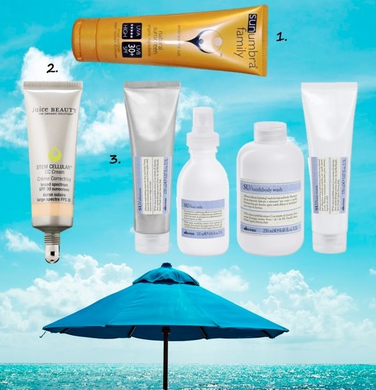 Beauty bag essentials for a summer holiday