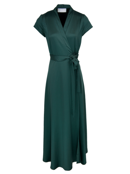 green wrap dress maxi dress South Africa