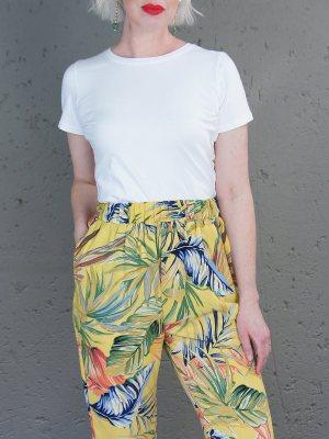 Yellow jogger pants