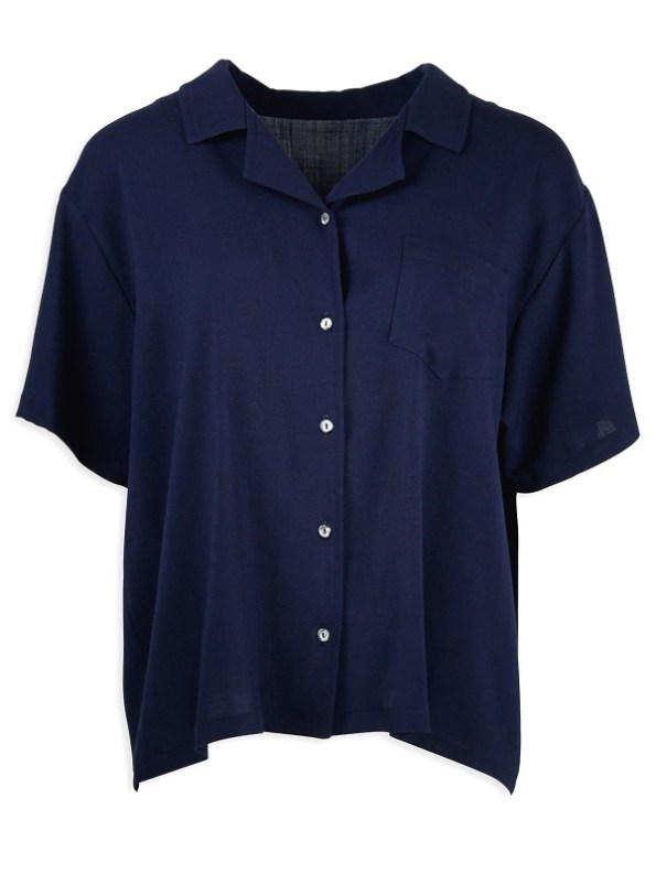 JMVB Nimes Shirt Navy Shopfront