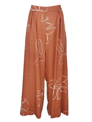 Rust Brown Trousers by Asha Eleven