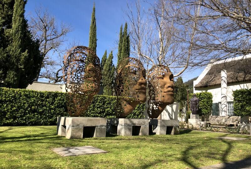 Sculpture Gardens Cape Town Grande Provence