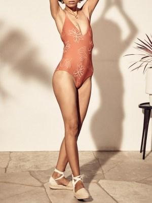 Asha Eleven Epoch Swimsuit Bloom Front
