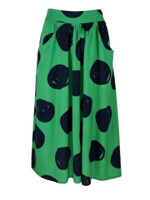 Green polka dot skirt South Africa