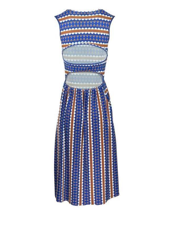 African Style Story Estremoz Dress Back