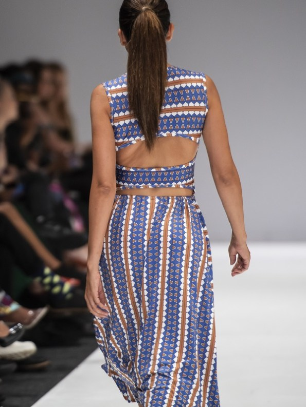 African Style Story Estremoz Dress SAFW Back
