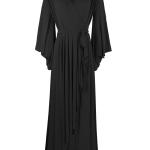 long black evening dress wrap dress South Africa