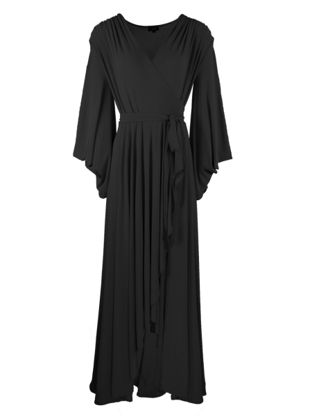 long black evening dress wrap dress South Africa