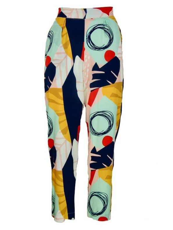Good Clothing Kandy Pants Abstract Jungle