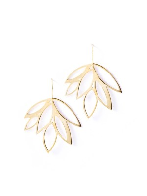 Leaf shaped earrings South Africa