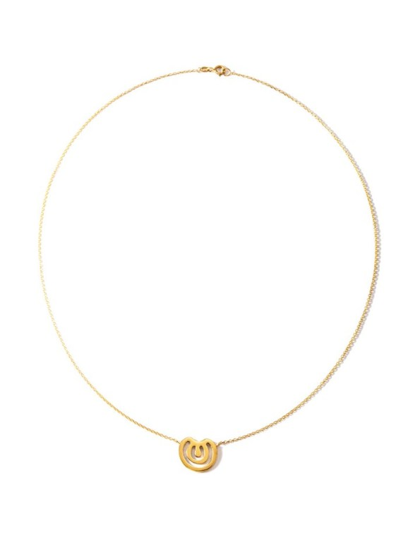 Kirsten Goss Wildcard no.22 necklace gold vermeil