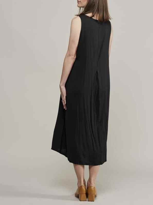 Mareth Colleen Camille4Mom Dress Black Back