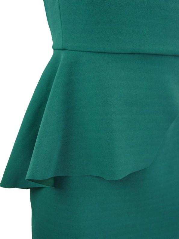 Mareth Colleen Lock Dress Green Detail