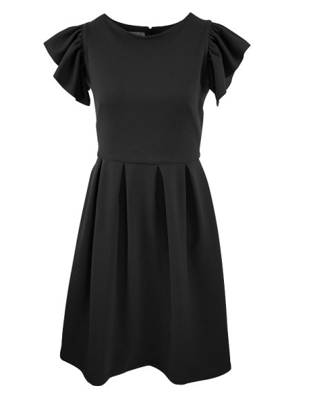 Mareth Colleen Tam Dress Black