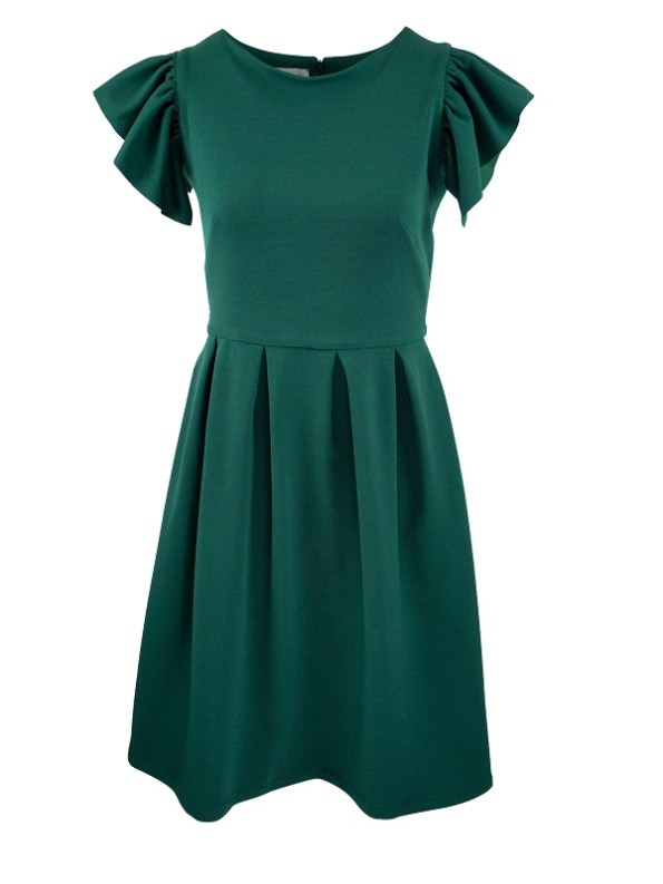 Mareth Colleen Tam Dress Green