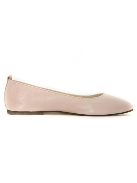 House Of Cinnamon Fama Pointed Flat Pink Side