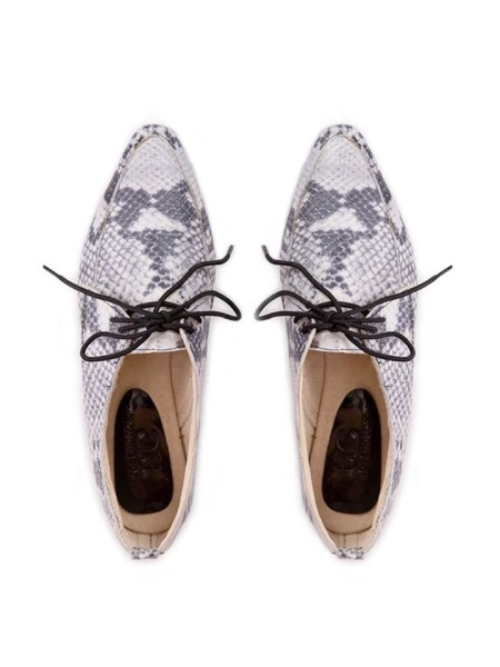 Snake print brogues for women South Africa