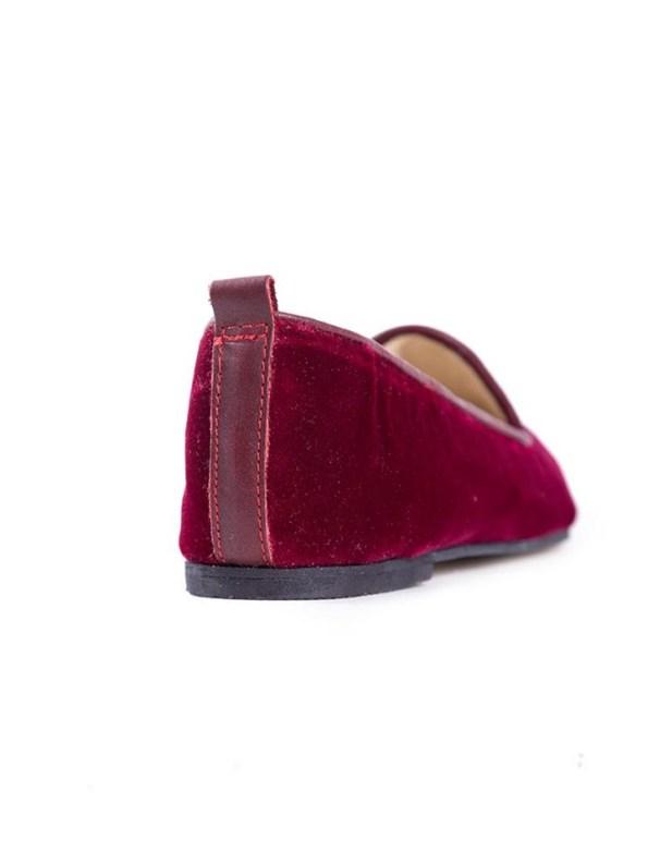House of Cinnamon Jasmine Velvet Loafer Back