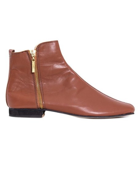 House of Cinnamon Suna Classic Ankle Boot Brown