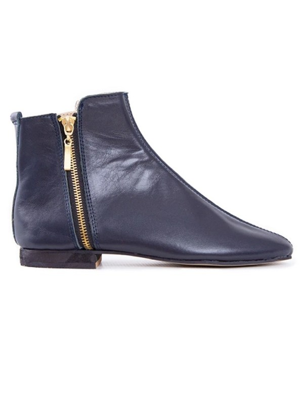 House of Cinnamon Suna Classic Ankle Boot Navy