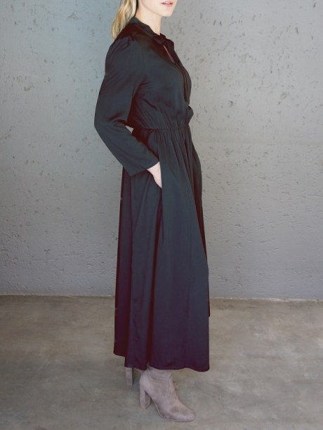 Black Maxi dress with pockets South Africa