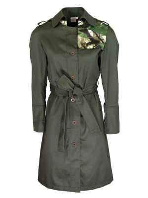 Khaki Trench Coat made in South Africa