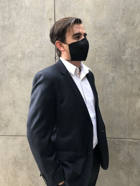 Erre Adjustable Tailored Mask with Upper Wire Man