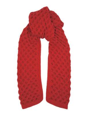 Red Bubble knit mohair blend scarf South Africa