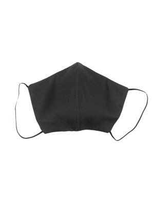 Black Cotton Face Mask Made in South Africa