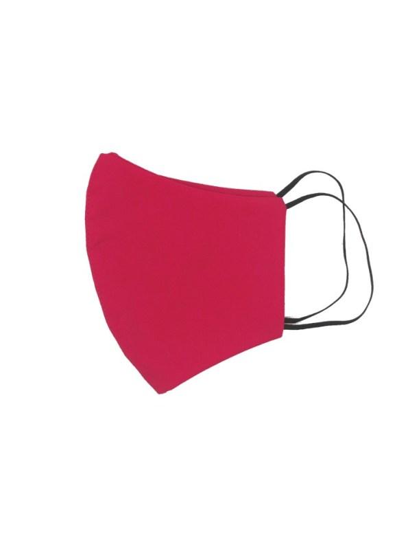 JMVB Face Mask Hot Pink Side