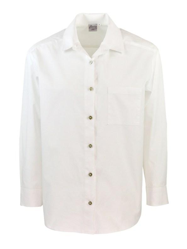 JMVB Hynde Boyfriend Shirt White _2