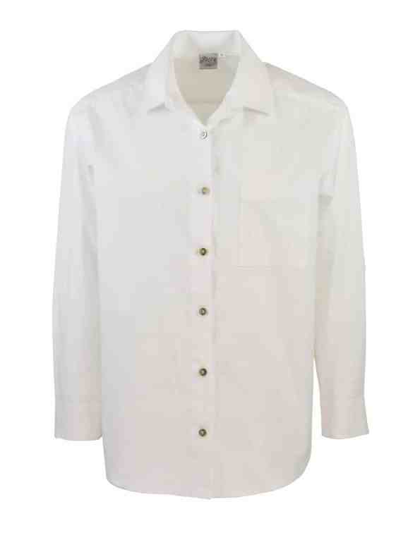 JMVB Hynde Boyfriend Shirt White
