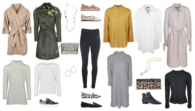 ways to style black leggings