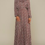 Mareth Colleen Charlotte Dress Red Floral