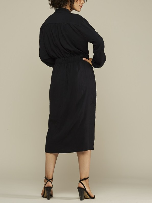 Mareth Colleen Isla Dress Black Back