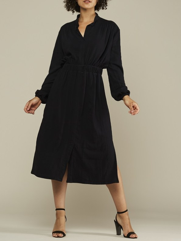 Mareth Colleen Isla Dress Black Front 2
