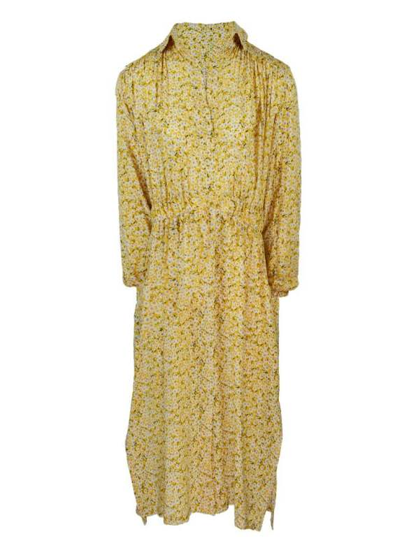Mareth Colleen Isla Dress Yellow Floral