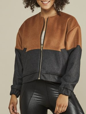 Mareth Colleen Tom Bomber Jacket Front