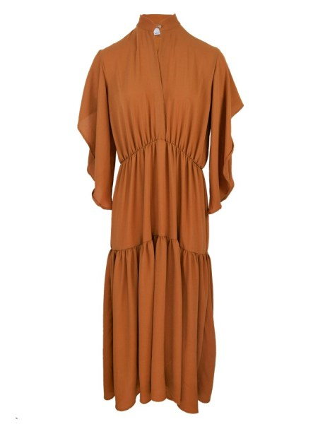 Boho maxi Dress in Clay made in South Africa
