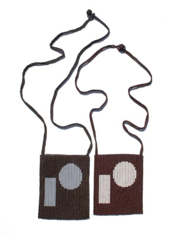 The Herd Nomfundo Neckpiece 3 Zulu Love Letters Matt and Gloss