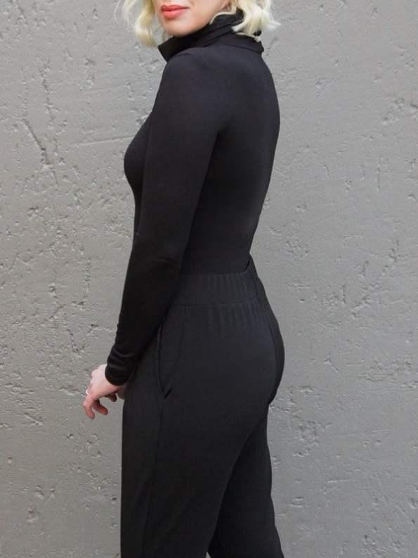 Erre Mask Top Black Back