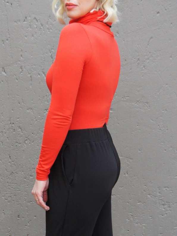 Erre Mask Top Orange Back