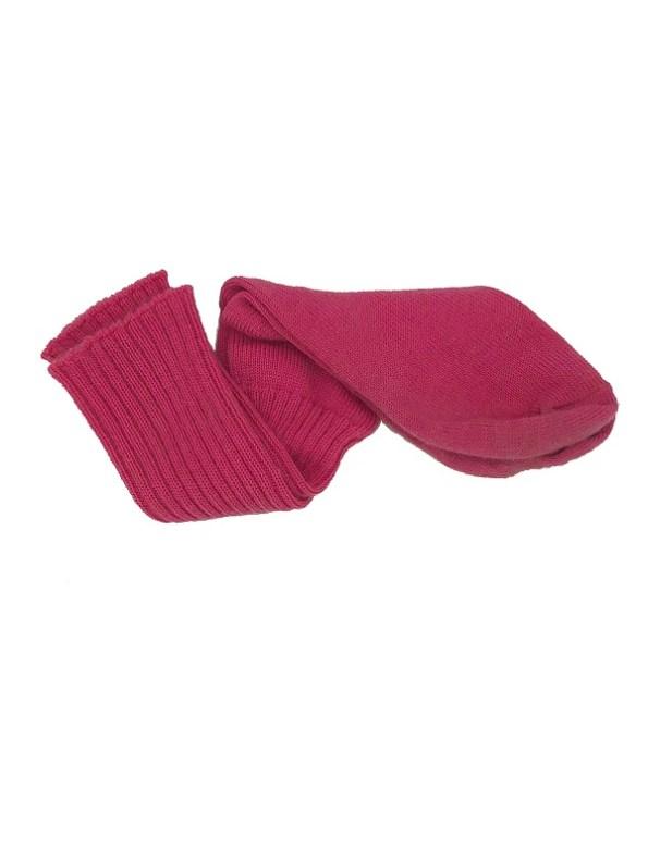 Erre Kick Back Socks Pink Mohair Blend Twisted