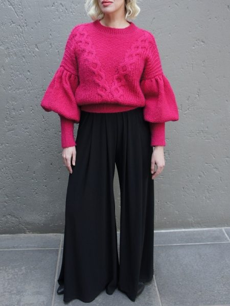 Pink knitted sweater jersey from wool and mohair South Africa