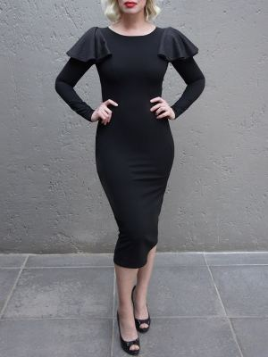 Black evening dress Pencil Dress made in South Africa